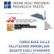 CORSO BASE SULLE VALUTAZIONI IMMOBILIARI BASATO SUGLI STANDAR INTERNAZIONALI IVS